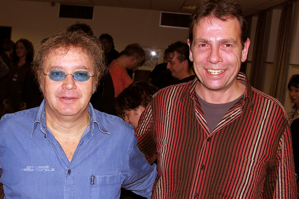 Wolfgang Dehmel (GLAVIVA Sounddesign & Musikproduktion) + Ian Paice (DEEP PURPLE) • Backstage in 2007